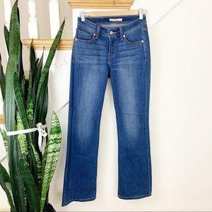 Levi's 529 Curvy bootcut denim jeans sz 6